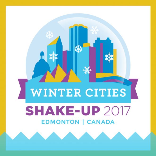 Winter Cities Shake-Up Conference logo Edmonton