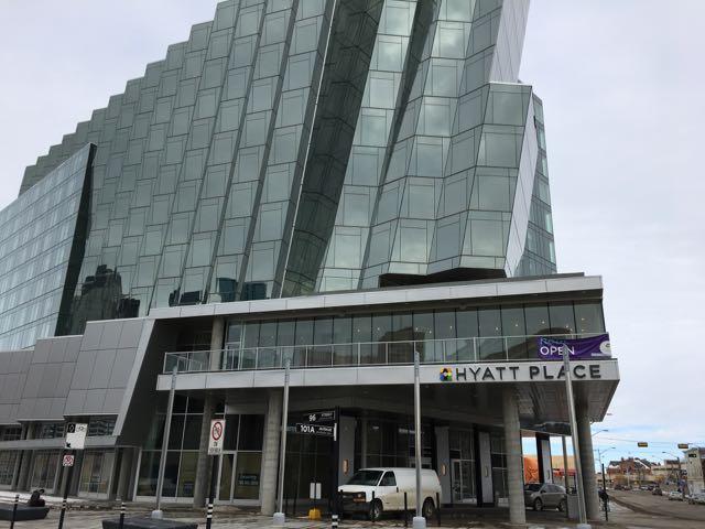 Hyatt Place downtown Edmonton