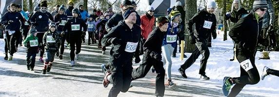Edmonton Winter Triathlon