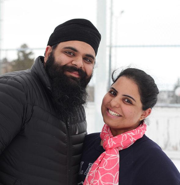 Jai Deep Singh and Harleen Kaur