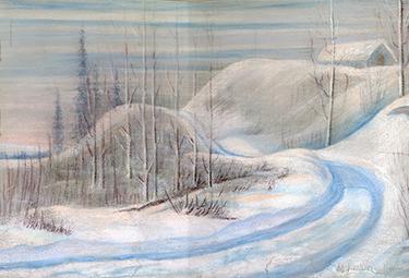 M.-Kathleen-Haufman---A-Winter-Scene--EA-85-1
